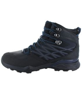 12198e885 The North Face Hedgehog Hike Mid Blue Gore-Tex