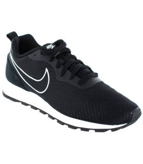 Nike Nike MD Runner 2 Eng Nike Calzado Casual Hombre Lifestyle Tallas: 44, 44,5, 45,5; Color: negro