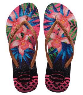Havaianas Slim Tropical Fucsia
