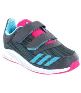 Adidas Forta Run CF I Adidas Zapatillas Running Niño Zapatillas Running Tallas: 21, 23, 25; Color: gris
