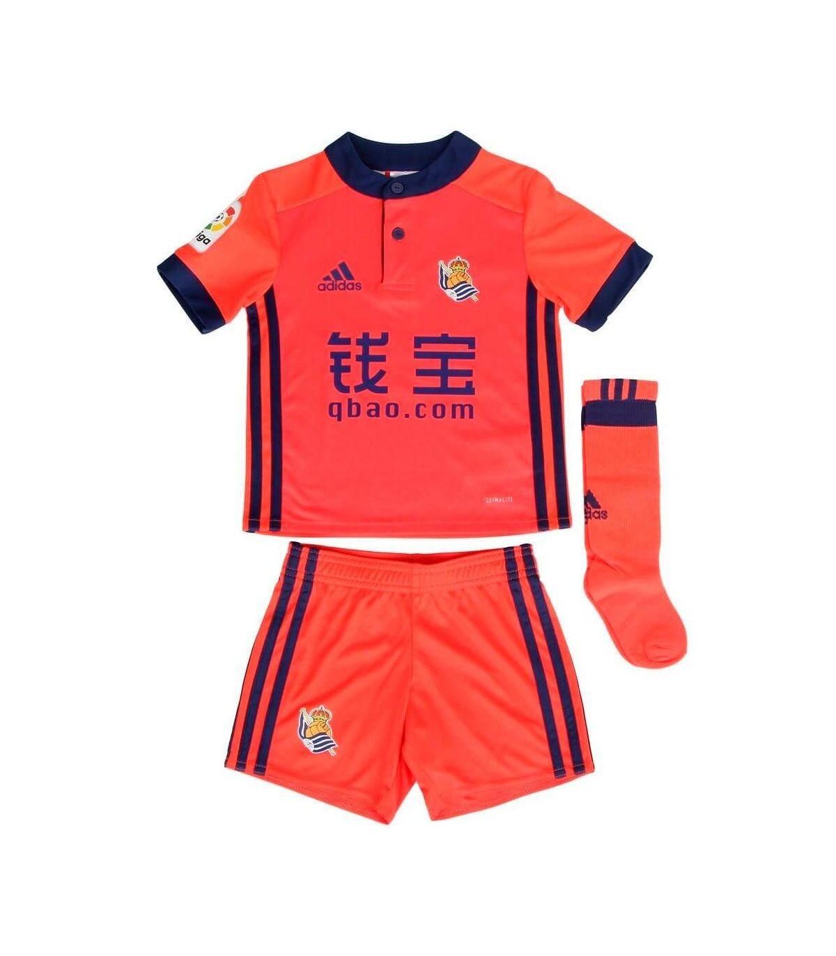 Adidas Real Sociedad Kit Segunda 2017/2018