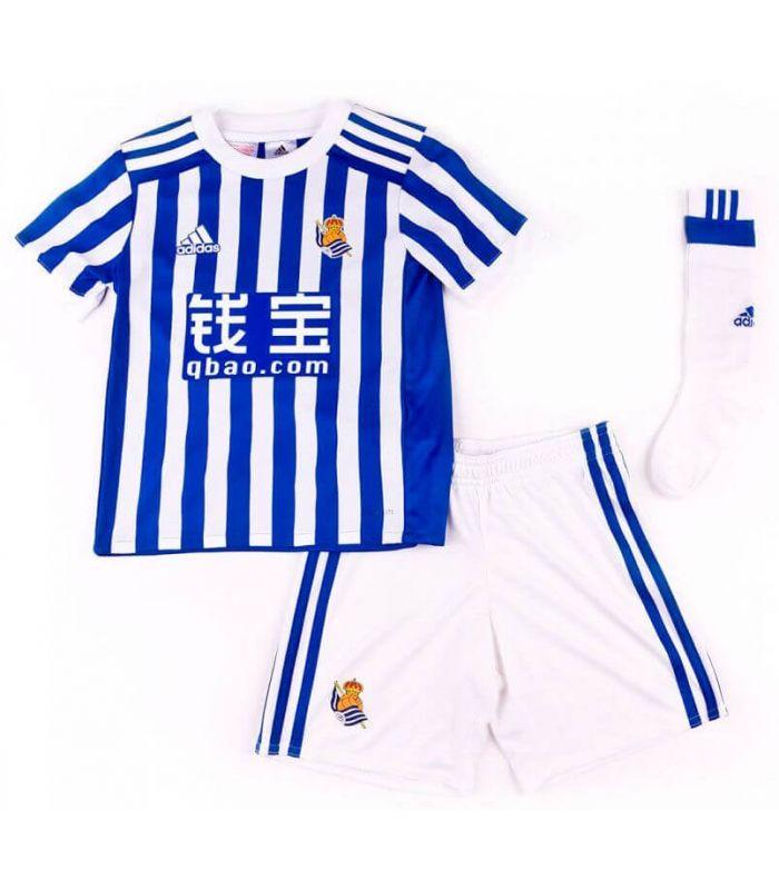 Adidas Real Sociedad Kit Oficial 2017/2018
