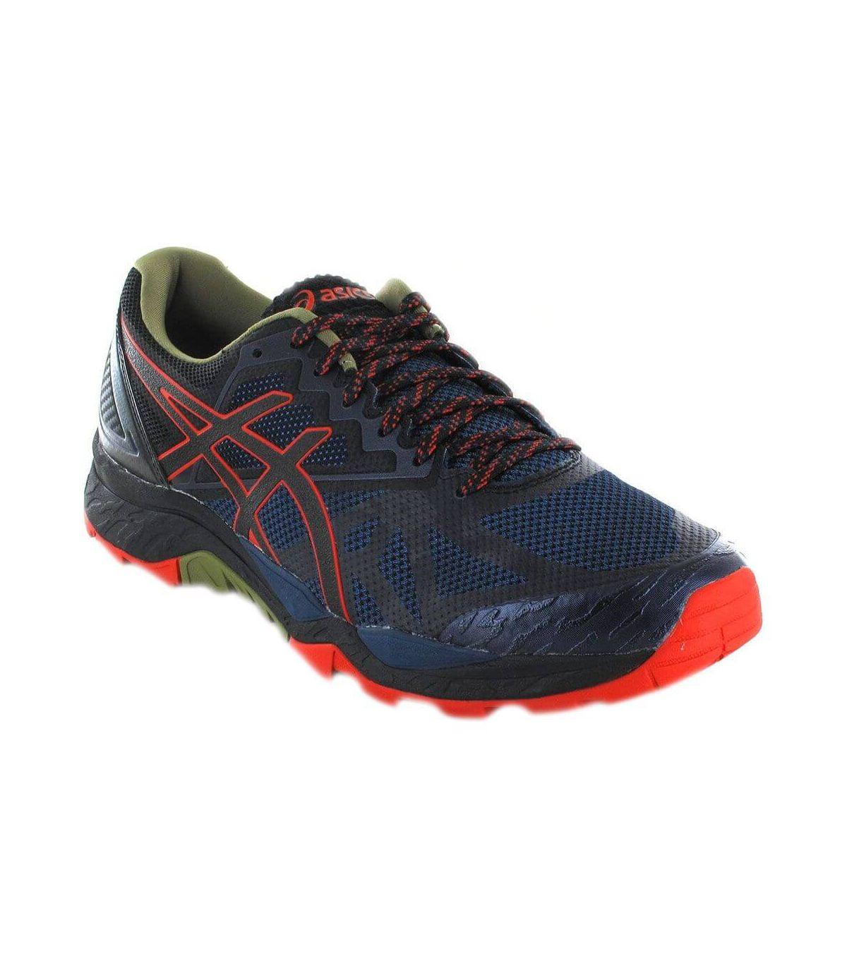 Asics Gel FujiTrabuco 6 Azul Asics Zapatillas Trail Running Hombre Zapatillas Trail Running Tallas: 40,5, 41,5; Color: