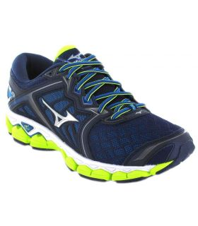 Zapatillas Running Hombre - Mizuno Wave Sky azul Zapatillas Running