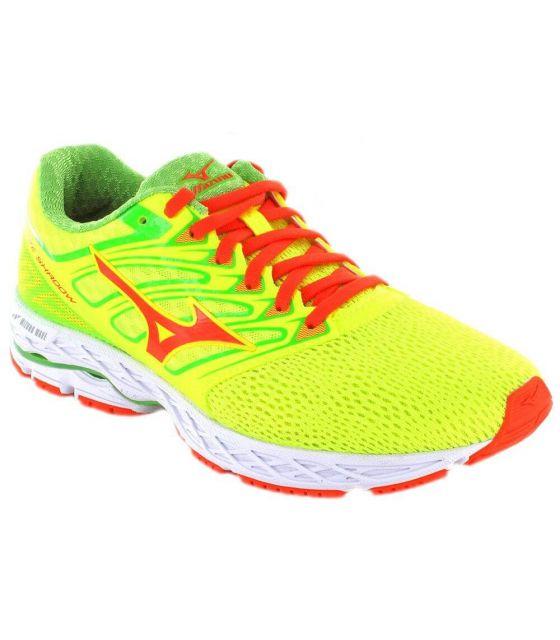 Mizuno Wave Shadow Mizuno Zapatillas Running Hombre Zapatillas Running Tallas: 44,5; Color: amarillo