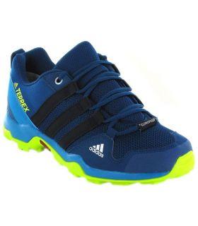 Adidas Terrex AX2R ClimaProof Azul - Zapatillas Trekking Niño - Adidas