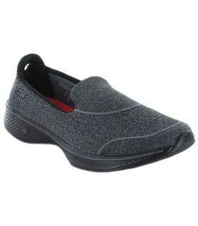 Skechers GOwalk 4 Super Sock 4 - Calzado Casual Mujer - Skechers negro 38