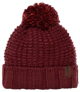 The North Face Gorro Chunky Granate