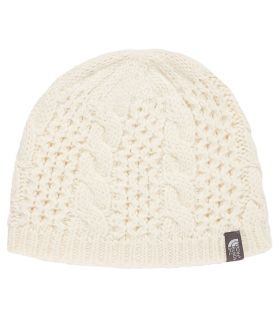 The North Face Gorro Minna Beige The North Face Gorros - Guantes Textil montaña