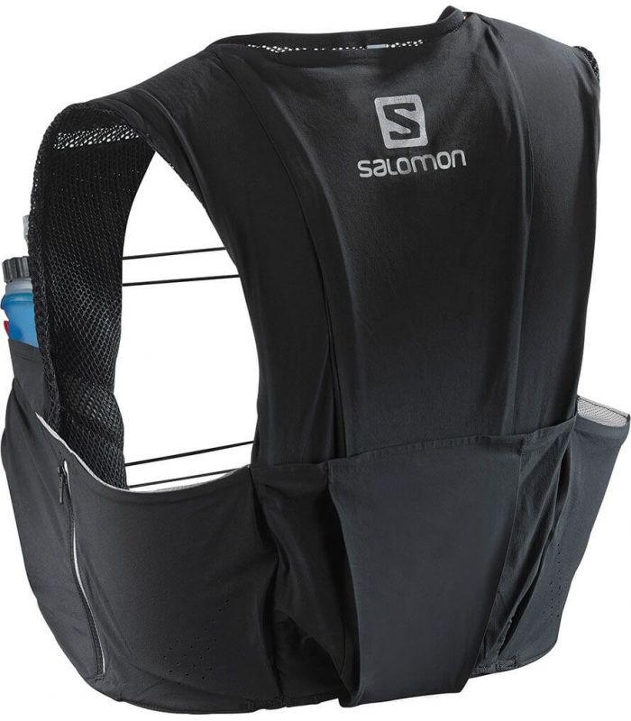 Salomon S-Lab Sense Ultra 8 Set Negro - Mochilas de Hidratación - Salomon negro xs