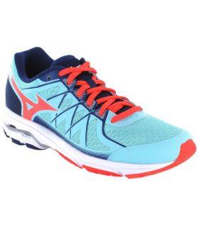 Mizuno Wave Unitus 4 W Mizuno Zapatillas Running Mujer Zapatillas Running Tallas: 38, 38,5, 40,5; Color: azul claro