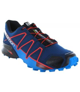 Salomon Speedcross 4 Poseidon Salomon Zapatillas Trail Running Hombre Zapatillas Trail Running Tallas: 46; Color: azul