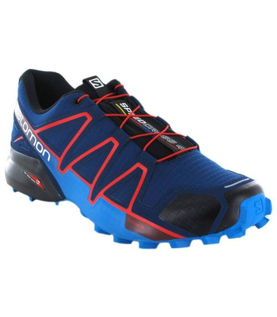 Salomon Speedcross 4 Poseidon Salomon Zapatillas Trail Running Hombre Zapatillas Trail Running Tallas: 46; Color: azul