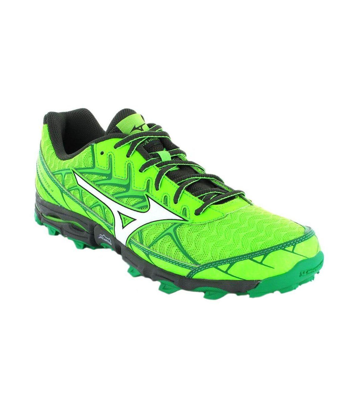 Mizuno Wave Hayate 4 Mizuno Zapatillas Trail Running Hombre Zapatillas Trail Running Tallas: 44, 46; Color: pistacho