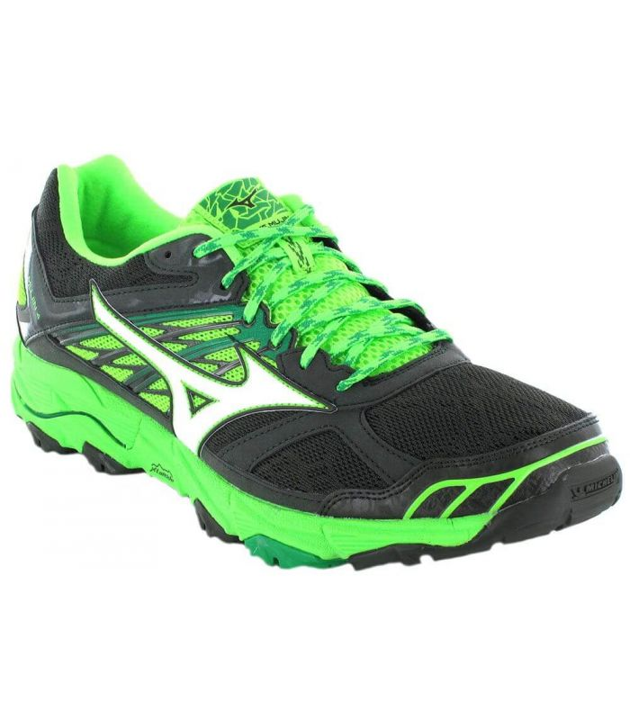 Mizuno Wave Mujin 4 Gris - Running Shoes Trail Running Man
