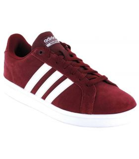 Adidas VS Advantage Granate Adidas Calzado Casual Hombre Lifestyle Tallas: 40, 42, 44; Color: granate