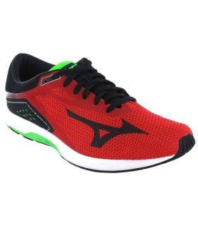 Mizuno Wave Sonic Rojo - Zapatillas Running Hombre - Mizuno rojo 44, 44,5, 45