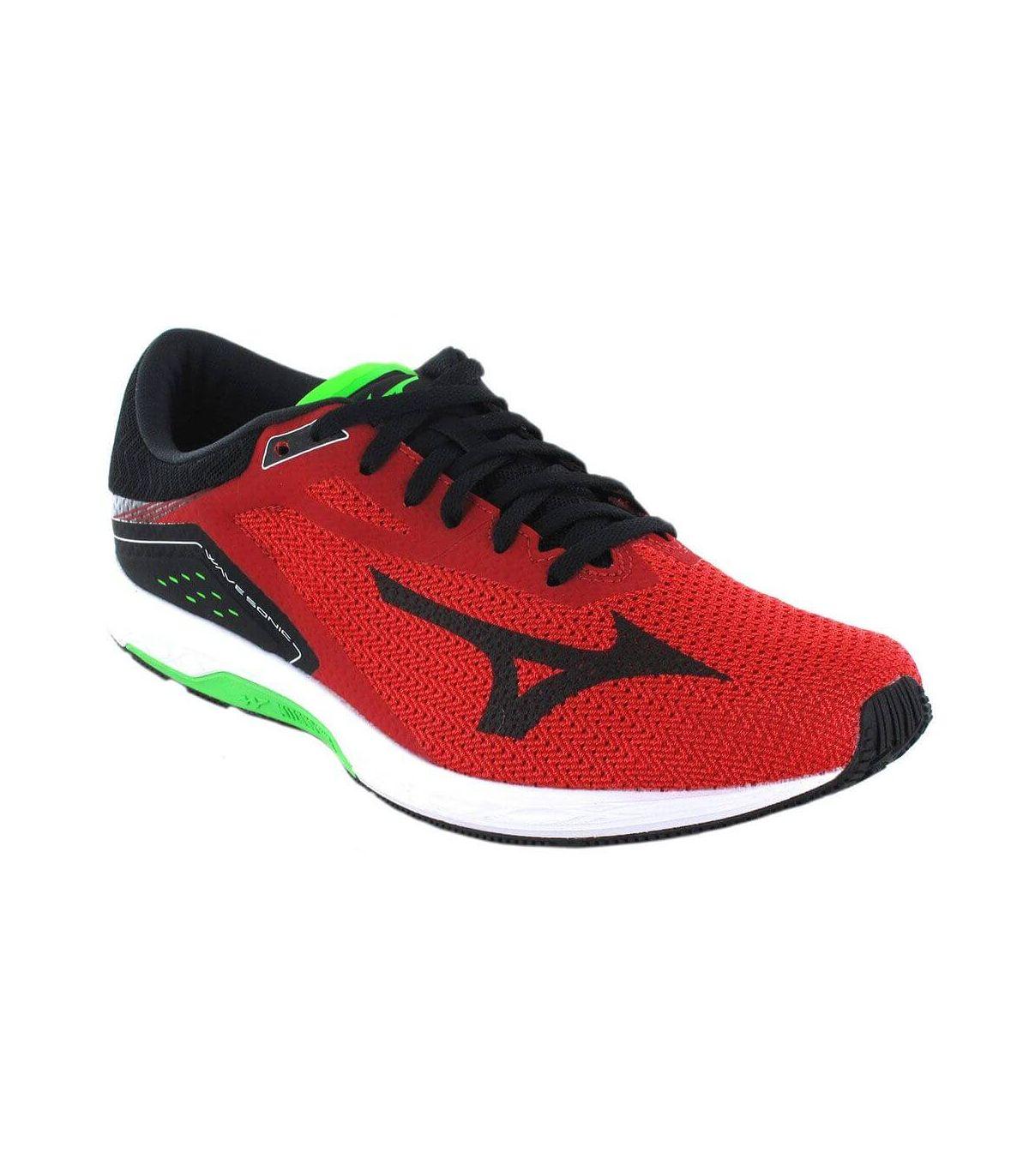 Mizuno Wave Sonic Rojo Mizuno Zapatillas Running Hombre Zapatillas Running Tallas: 44, 44,5, 45; Color: rojo