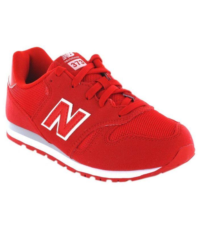 New Balance KJ373FRY - Calzado Casual Junior - New Balance rojo 30