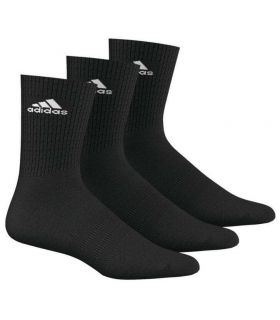 Adidas 3S Performance Ankle Half Negro - Calcetines Running - Adidas negro 35 / 38