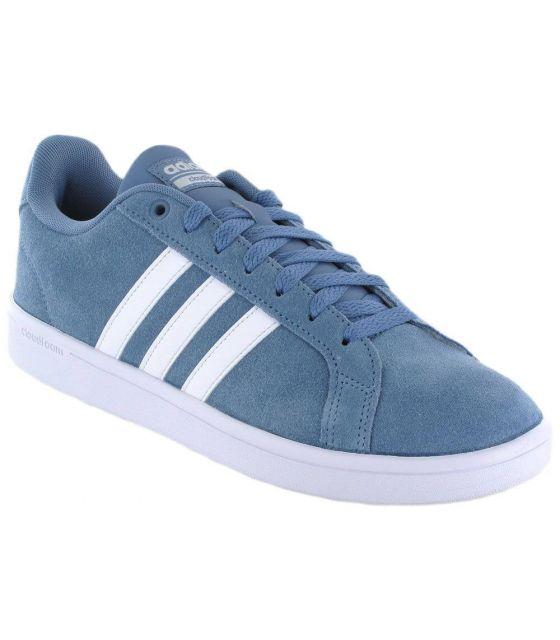 Adidas VS Advantage Azul Adidas Calzado Casual Hombre Lifestyle Tallas: 44 2/3, 46 2/3