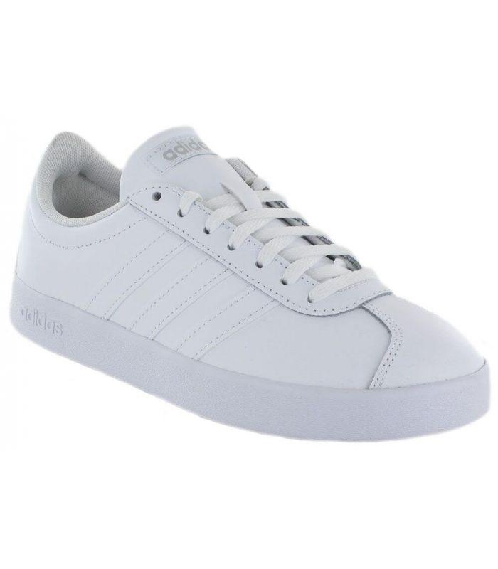 Tableta desenterrar Dando  Adidas VL Court 2.0 W Blanco