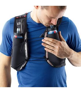 Salomon S-Lab Sense Ultra 5 Set Negro Mochilas de Hidratación