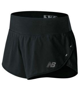 New Balance 3 Inch Impact Short W - Pantalones técnicos running - New Balance negro xs