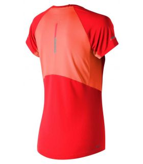 New Balance Ice 2.0 Short Sleeve Orange