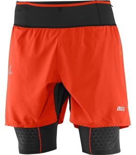 Salomon S-Lab Exo Tw Short Rojo