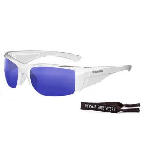 Ocean Guadalupe Shiny White / Revo Blue