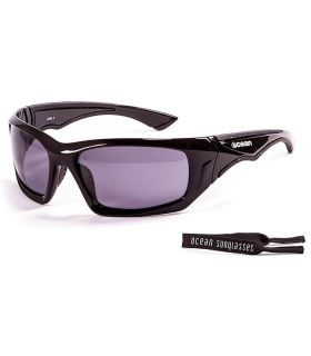 Ocean Antigua Shinny Black / Smoke Ocean Sunglasses Gafas de sol Running Running Color: negro