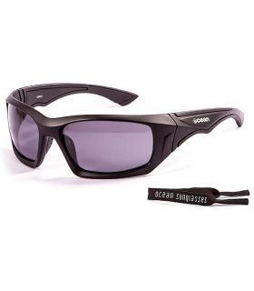 Ocean Antigua Mate Black / Smoke - Gafas de sol Running - Ocean Sunglasses negro