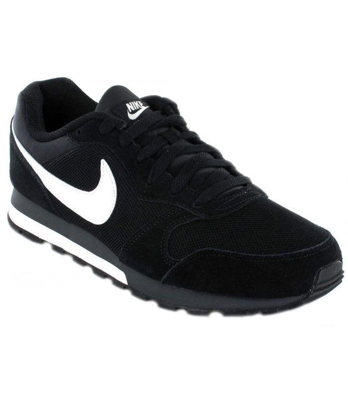 Nike MD Runner 2 Negro - Calzado Casual Hombre - Nike negro 44,5