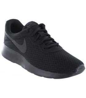 Nike Tanjun Logo Zwart