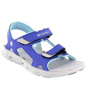 Columbia Techsun Vent Jr Purple - Tienda Sandalias / Chancletas Junior - Columbia azul