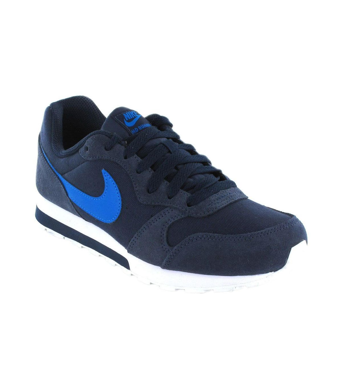Nike MD Runner 2 GS 410 Nike Calzado Casual Junior Lifestyle Tallas: 38,5; Color: azul marino