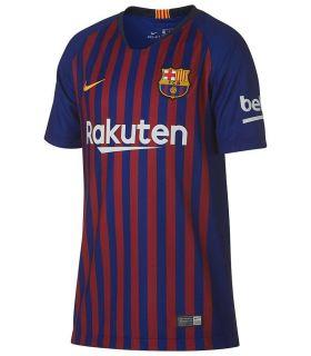 Nike camiseta de fútbol 2018/19 FC Barcelona Home Youth - Equipaciones Oficiales Fútbol -