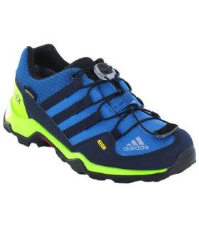 Adidas Terrex GTX Azul Adidas Zapatillas Trekking Niño Calzado Montaña Tallas: 28, 33; Color: azul