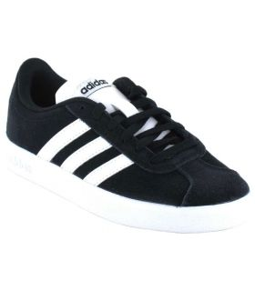 Adidas VL Court 2.0 K Negro Calzado Casual Junior Lifestyle