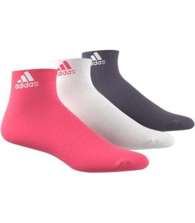 Adidas Calcetines Cortos Performance Rosa - Calcetines Running - Adidas rosa 31 / 34, 35