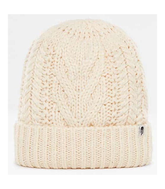 The North Face Cable MInna Beanie-Beige