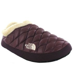 The North Face Thermoball Tent Mule Faux IV Burdeos Pantuflas