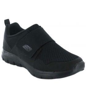 Skechers Gurn Skechers Calzado Casual Hombre Lifestyle Tallas: 41, 42, 43, 44, 45, 46, 47,5; Color: negro