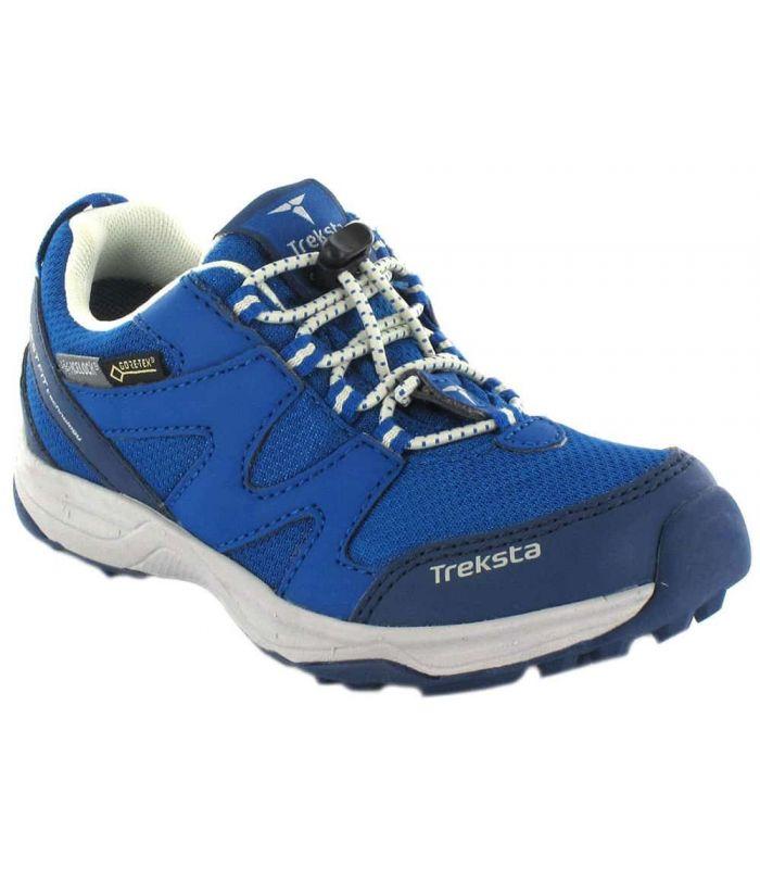 Treksta Jr Sport Gore-Tex TrekSta Zapatillas Trekking Niño Calzado Montaña Tallas: 34, 26; Color: azul