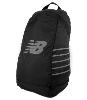 New Balance Packable Backpack Negro Mochilas - Bolsas Running