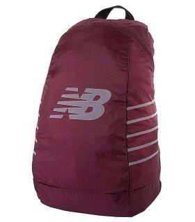 New Balance Packable Backpack Granate New Balance Mochilas - Bolsas Running Color: granate
