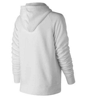 New Balance Pullover Hoodie W Blanco