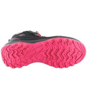 Izas Lezat Izas Botas de Montaña Mujer Calzado Montaña Tallas: 37, 38, 39, 40, 41; Color: negro