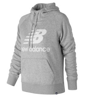 New Balance Pullover Hoodie W Gray